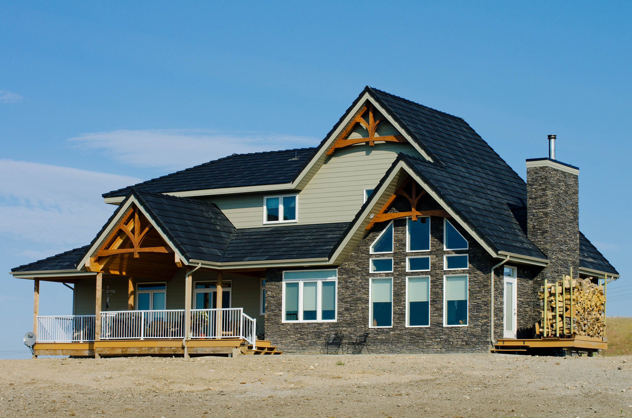 Saskatchewan custom home design jaywest country homes for Custom home plans with cost to build